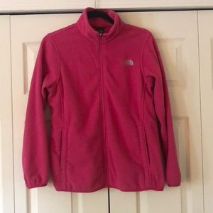 Pink NorthFace Fleece